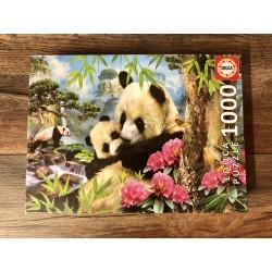 Puzzle Pandabären
