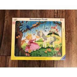 Rahmenpuzzle Prinzessin
