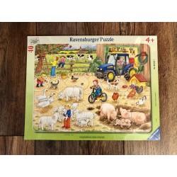 Rahmenpuzzle Bauernhof