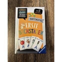 Erste Buchstaben Kartenspiel